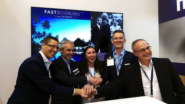 Benjamin Jost, TrustYou, Guillaume de Marcillac, Fastbooking, Margaret Ady, TrustYou, Michael Menzel, TrustYou, Jean-Luc Chrétien, Fastbooking, at ITB Berlin 2016