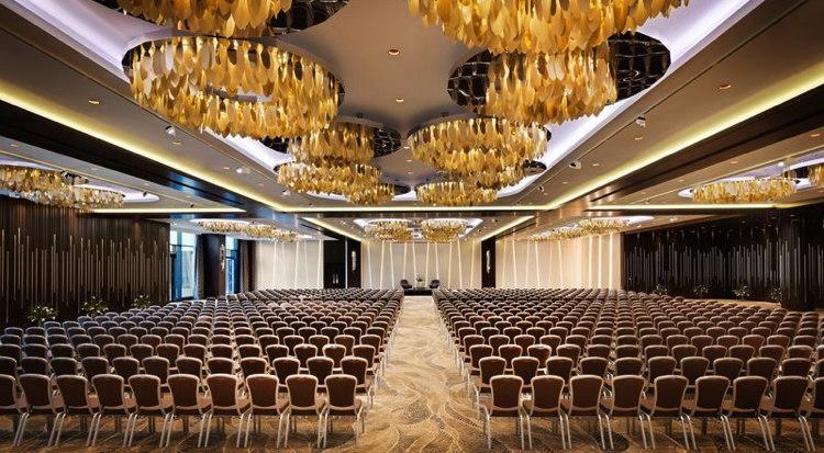 A Marriott ballroom