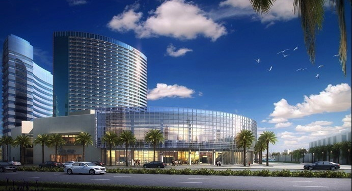 Rendering of the Marriott Marquis San Diego Marina Hotel