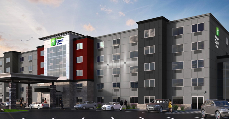 Rendering of the Holiday Inn Express & Suites Halifax - Bedford