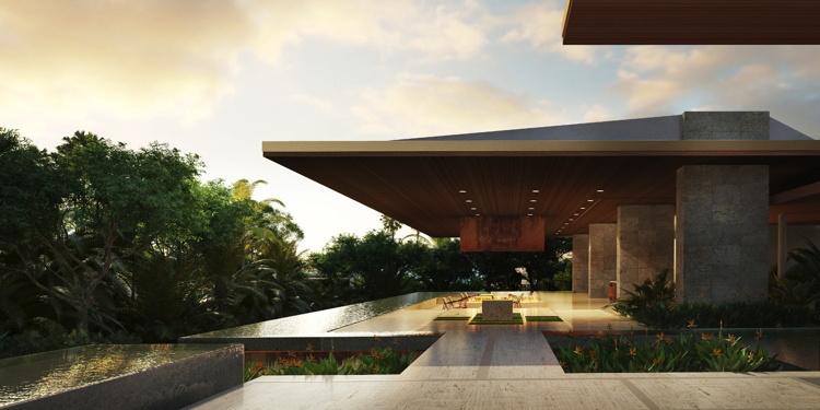 Rendering of the Four Seasons Resort Los Cabos