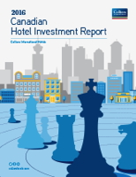 Cover - 2016 Canadian Hotel Investment Report