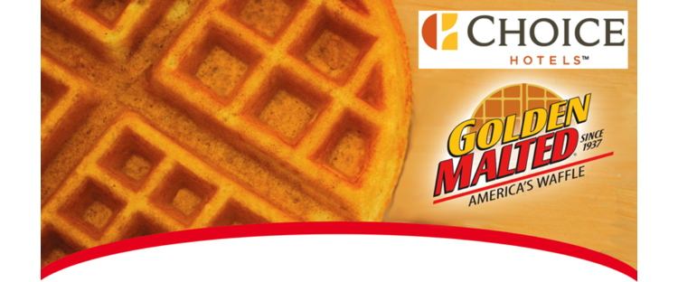 Golden Malted Waffles