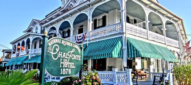 Hotel History The Chalfonte Hotel 1876 Cape May New