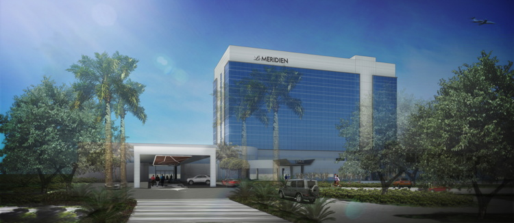 Rendering of the Le Méridien Fort Lauderdale Airport