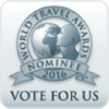 The World Travel Awards Nominee logo