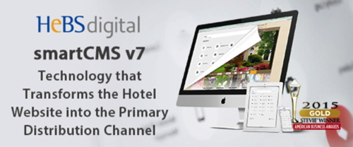 Promotional image for HeBS Digital's smartCMS v7