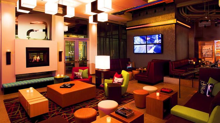 Re:mix(SM) lounge at an Aloft hotel
