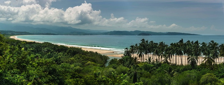 A beach in Mexico's Riviera Nayarit region.