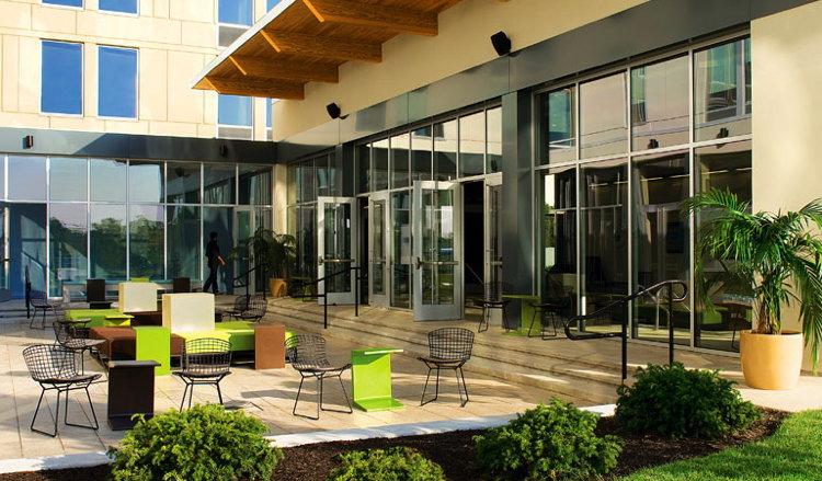 Aloft Hotel Yard