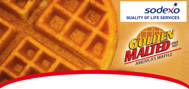 A Golden Malted Waffle