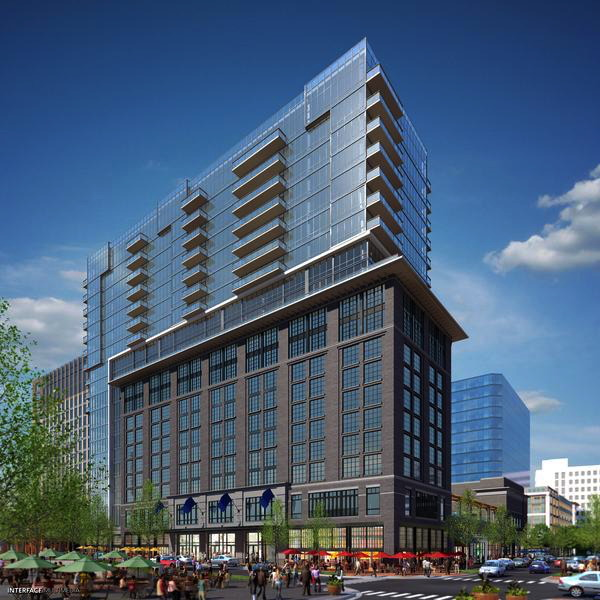 Rendering of the Canopy by Hilton Washington, D.C. Bethesda North Hotel