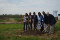 Image from the groundbreaking of the TownePlace Suites by Marriott in Richmond, KY