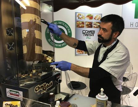 A Choco kebab machine