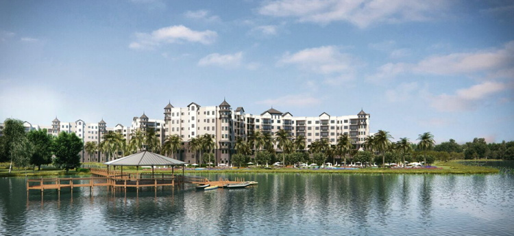 Rendering of the The Grove Resort & Spa in Orlando