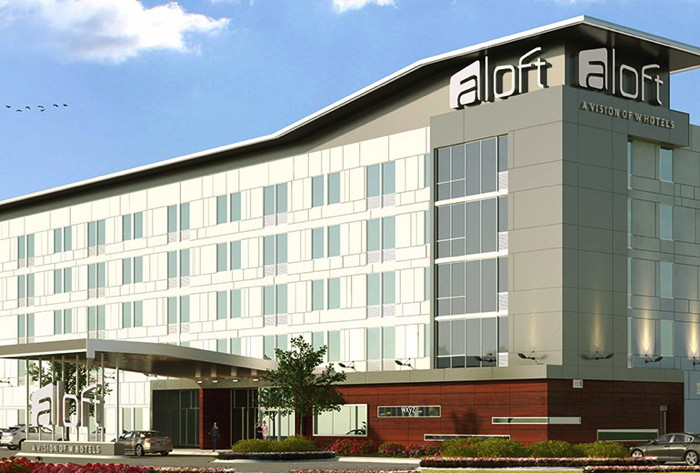 Aloft Raleigh-Durham Airport Brier Creek Hotel