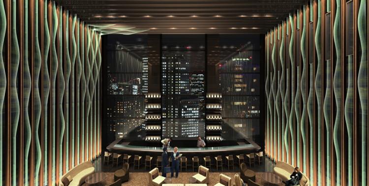 Sky Lobby at The Prince Gallery Tokyo Kioicho Hotel