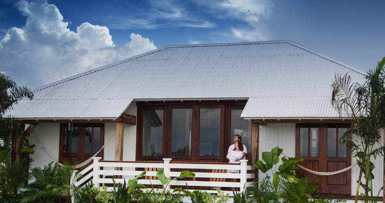 Rendering of a cabin at the The Resort at Mahogany Bay Village in Belize