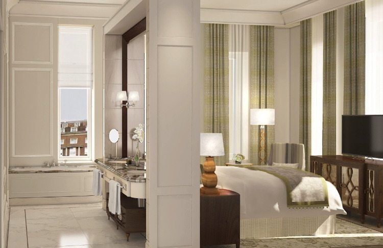 Master Bedroom at The Langham, London
