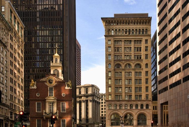 Ames Boston Hotel, Curio Collection - Exterior
