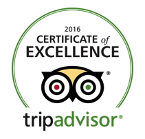 TripAdvisor Certificate Of Excellence Award - Logo