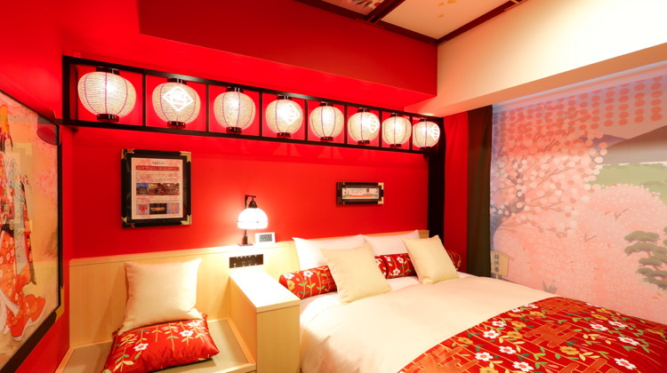 Kabuki Room at the Hotel Gracery Kyoto Sanjo North