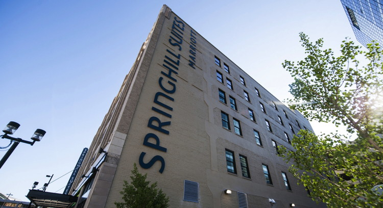 The SpringHill Suites Milwaukee Downtown Hotel - Exterior