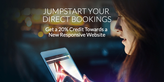 Promotional image for HeBS Digital's Jumpstart Your Direct Bookings program