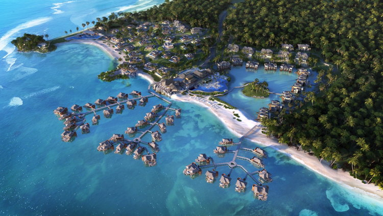 Rendering of the Viceroy Bocas del Toro Panama