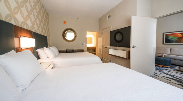 Suite at the Embassy Suites by Hilton McAllen Convention Center Hotel