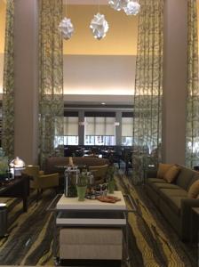 Hilton Garden Inn Ardmore Lobby
