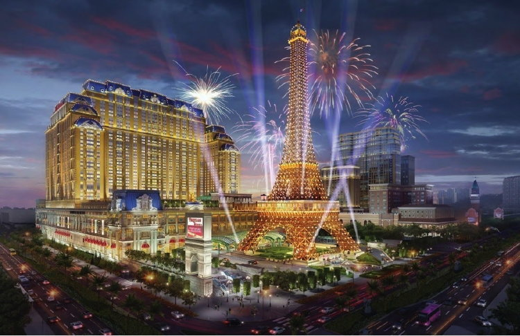 Rendering of the The Parisian Macao