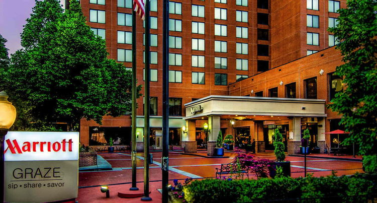 Winston-Salem Marriott - Exterior