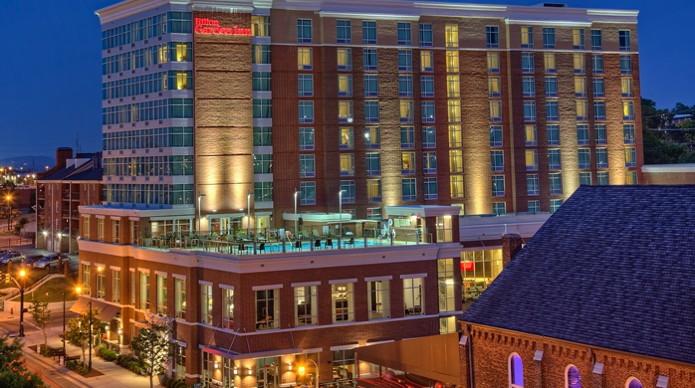 Hilton Garden Inn In Downtown Nashville Hotel - Exterior