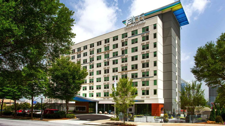 Aloft Atlanta Downtown Hotel - Exterior
