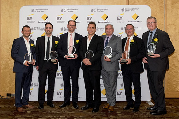 Picture from 2016 EY Entrepreneur of the Year™ Eastern Region presentation