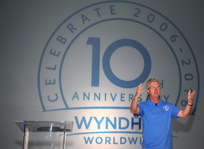 Stephen P. Holmes, chairman and chief executive officer Wyndham Worldwide
