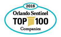 Top Workplace by Orlando Sentinel Badge