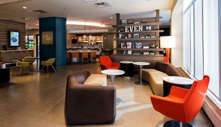EVEN Hotels Brooklyn Hotel lobby
