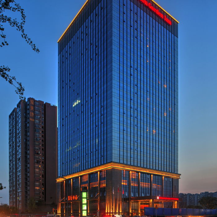 Hilton Garden Inn Chengdu Huayang Hotel exterior