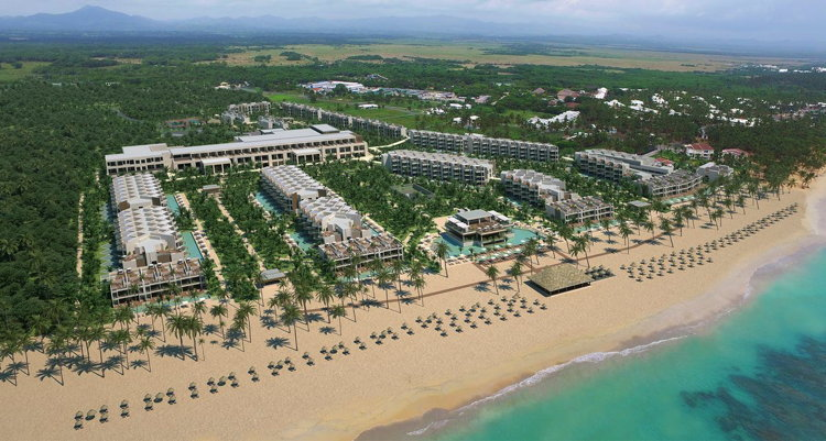 Excellence El Carmen Resort in the Dominican Republic - Aerial view