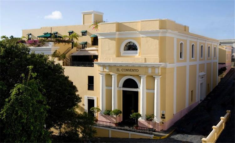 Hotel El Convento, Old San Juan, Puerto Rico - exterior