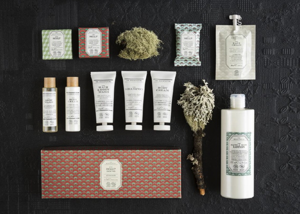 The Rerum Natura bath amenity collection
