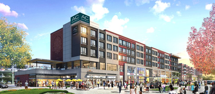 Rendering of the AC By Marriott Hotel In Cleveland