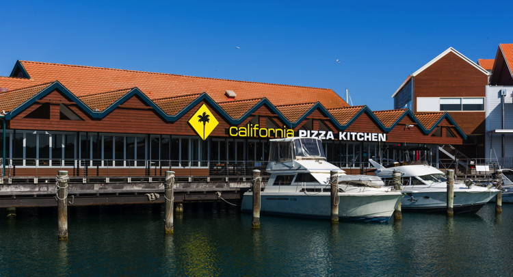 California Pizza Kitchen at Hillarys Boat Harbour in Australia - Exterior