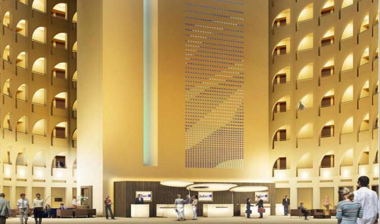 Radisson Blu Hotel in Lyon, France - Lobby