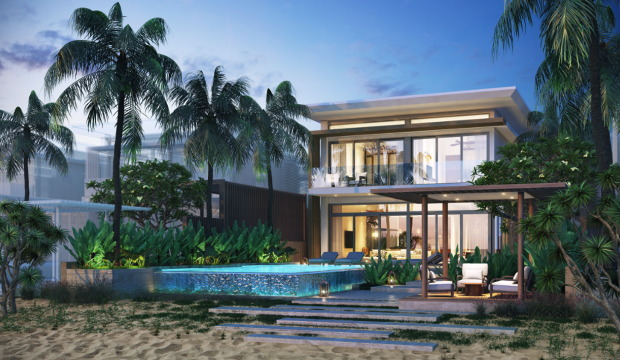 Rendering of the Meliá Ho Tram Resort in Vietnam