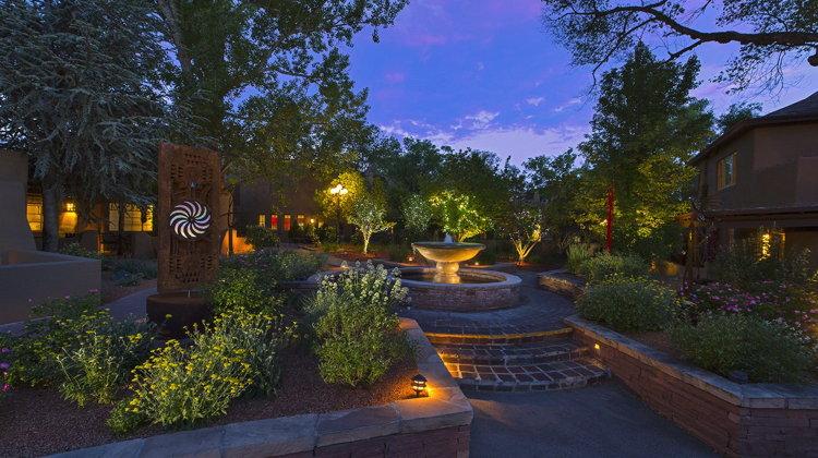 La Posada de Santa Fe - Garden