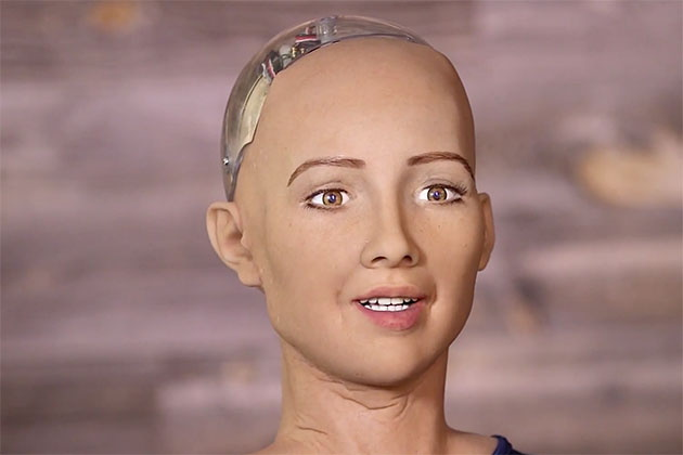 A female robot