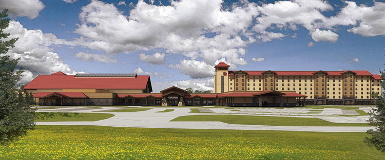 Rendering of the Great Wolf Lodge LaGrange, GA